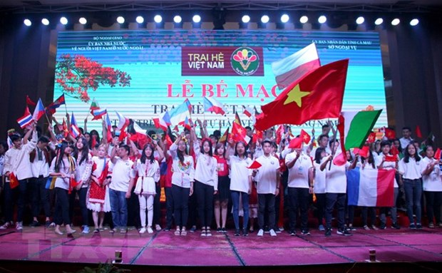 Summer Camp inspires young expats' pride of being Vietnamese hinh anh 1