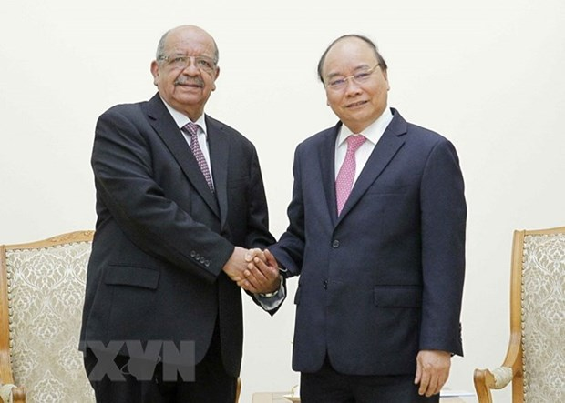 Vietnam looks to forge ties with Algeria in various fields: PM hinh anh 1