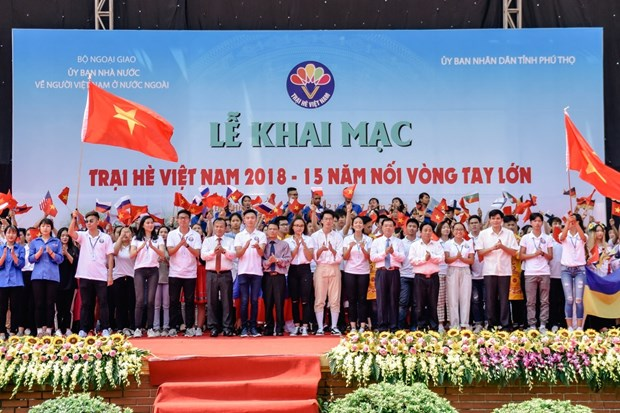 Vietnam Summer Camp 2018 kicks off in Phu Tho hinh anh 1