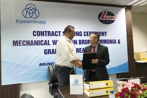 Vietnamese company secures mechanical installation deal in Brunei hinh anh 1