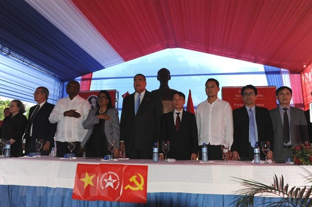 Dominican people honour late President Ho Chi Minh hinh anh 1