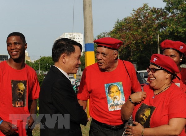 Dominican people honour late President Ho Chi Minh hinh anh 2