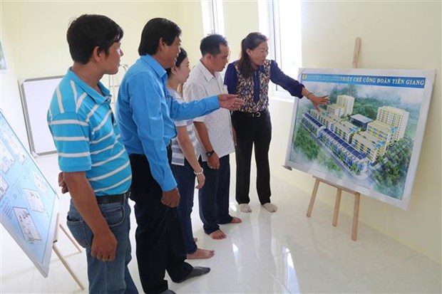 Tien Giang builds budget apartments for industrial park workers hinh anh 1