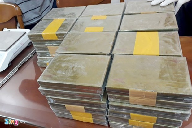 Another major drug production ring busted in HCM City hinh anh 1