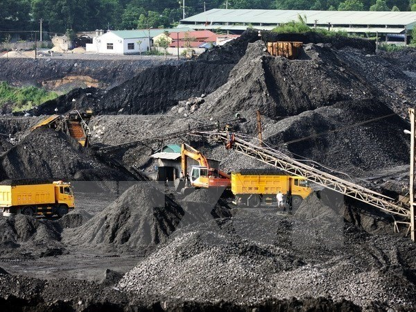 Vinacomin produces over 20 mln tonnes of raw coal from year's start hinh anh 1