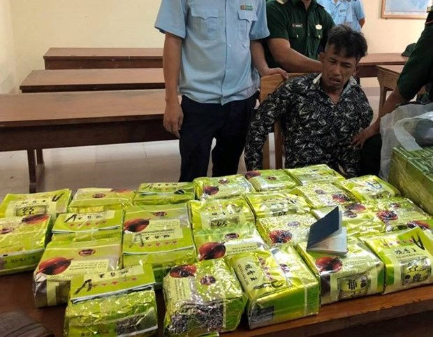 Another drug smuggling ring from Laos busted hinh anh 1