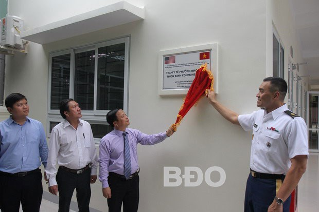 Binh Dinh receives healthcare station built with US funding hinh anh 1