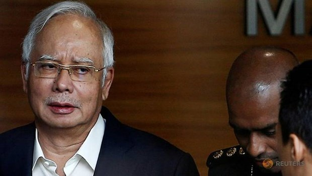 Former Malaysian PM's bank account unfrozen hinh anh 1