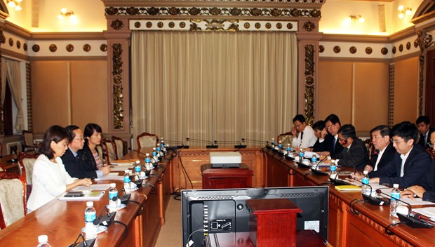 HCM City, JICA to meet quarterly to speed up projects hinh anh 1