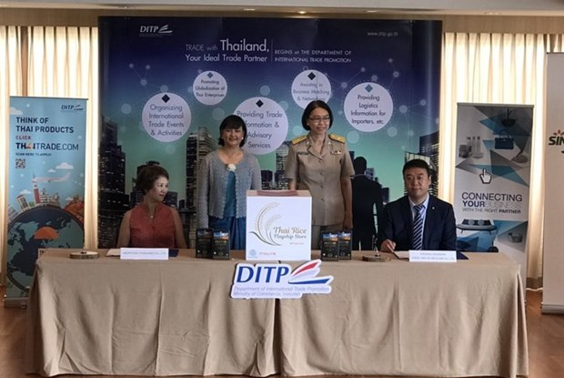 China to import Thai rice under MoU hinh anh 1
