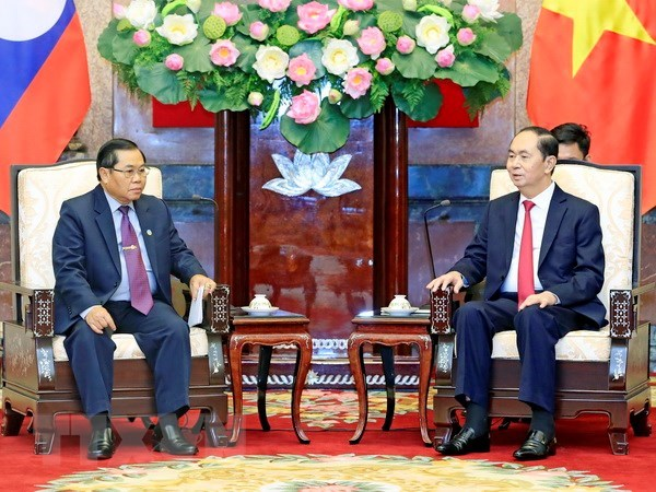 President commends Vietnam-Laos parliamentary cooperation hinh anh 1