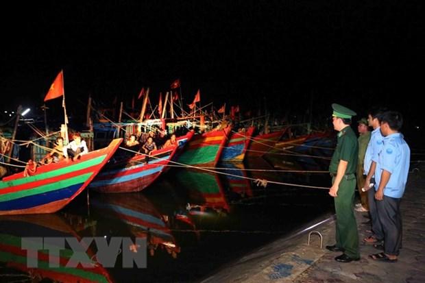 Storm Son Tinh to hit Thai Binh, Ha Tinh late July 18 hinh anh 1