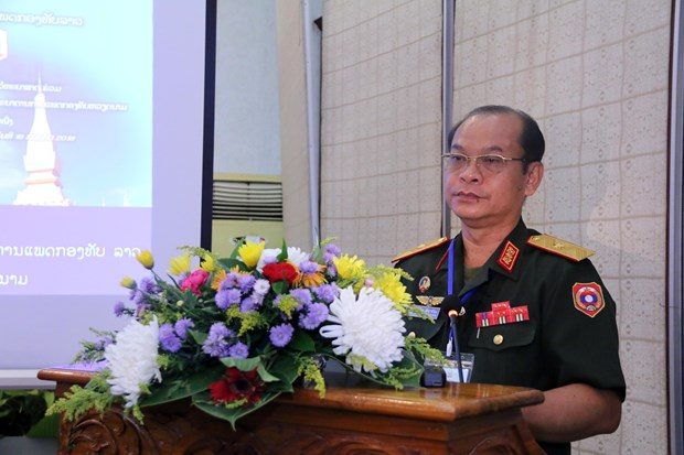 Vietnam, Laos step up cooperation in military medicine hinh anh 1
