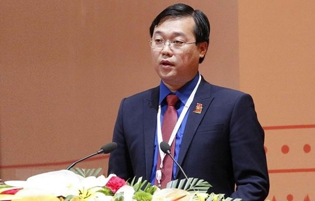Le Quoc Phong named Chairman of Vietnam Youth Federation hinh anh 1