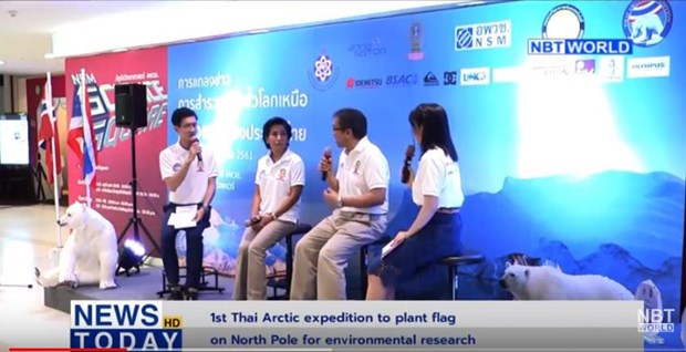 Thai expedition to plant flag on North Pole for environmental research hinh anh 1