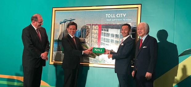 Singapore opens Toll City logistics hub hinh anh 1