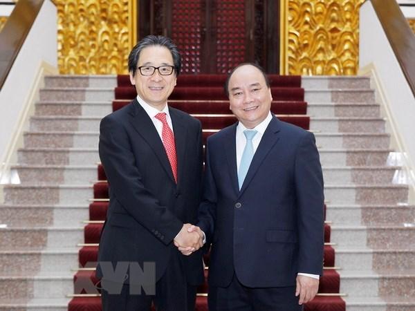 Japanese firms demand Vietnam's skilled workforce: JETRO Chairman hinh anh 1
