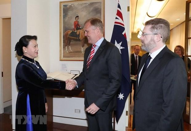 Speaker of Australian House of Representatives to visit Vietnam hinh anh 1
