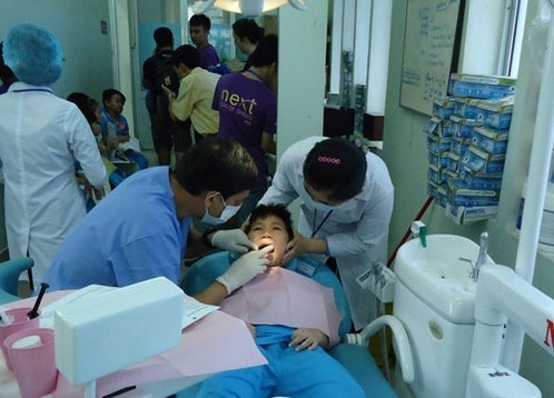 Children with genetic facial defects receive surgical operations hinh anh 1