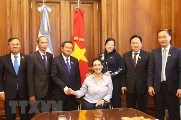 Vietnam promotes legislative cooperation with Argentina hinh anh 1