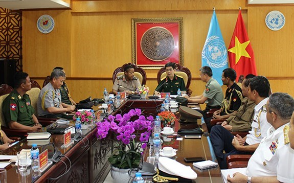 Int'l conference to be held to improve Vietnam's peacekeeping capacity hinh anh 1
