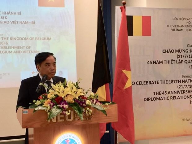 Exchange celebrates 45 years of Vietnam-Belgium relations hinh anh 1