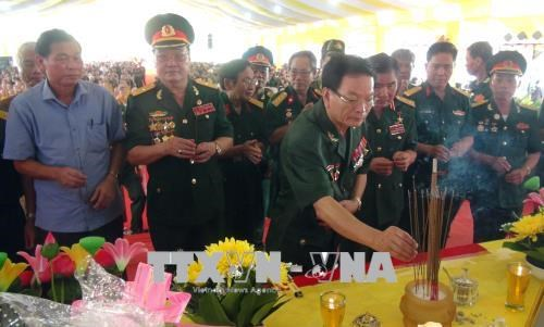 Requiem commemorates heroic martyrs in Quang Tri hinh anh 1