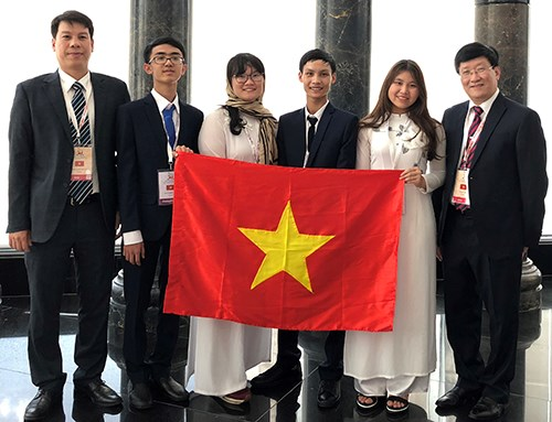 Vietnamese students win gold at 2018 Int'l Biology Olympiad hinh anh 1