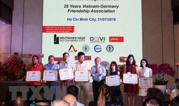 Association contributes to enhancing Vietnam-Germany friendship hinh anh 1