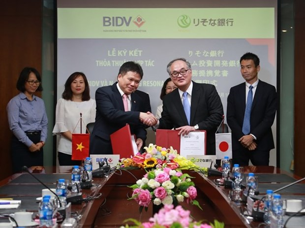 More Japanese banks partner with BIDV hinh anh 1