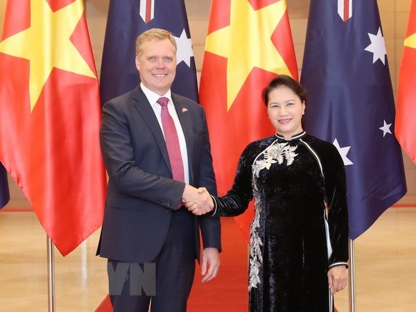 Top legislator holds talks with Australian House of Representatives Speaker hinh anh 1