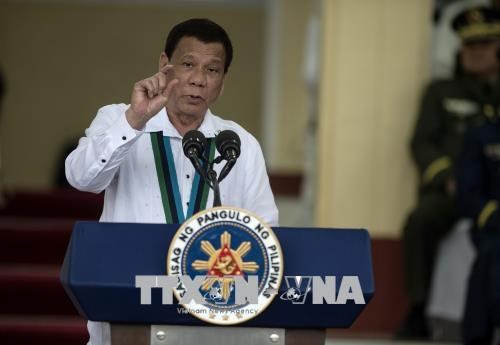 Philippine President vows to pursue fight against drug hinh anh 1