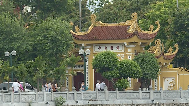 Tran Quoc pagoda - Hanoi tourist attraction hinh anh 1