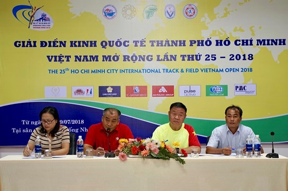 HCM City hosts int'l open track and field tourney hinh anh 1