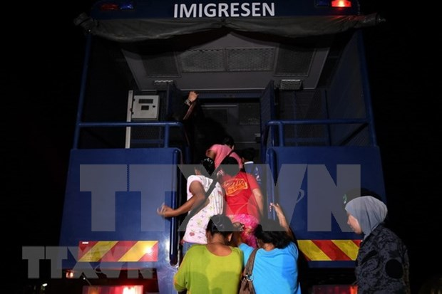 Malaysia to further intensify operations against illegal immigrants hinh anh 1