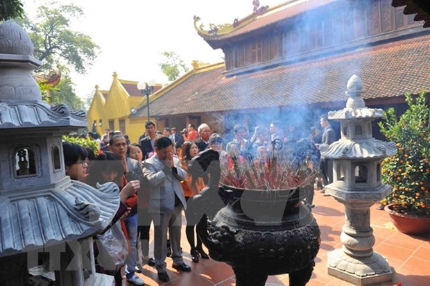 Tran Quoc pagoda - Hanoi tourist attraction hinh anh 4