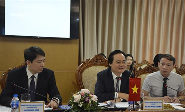 Vietnam boosts cooperation with Southeast Asian education organisation hinh anh 1