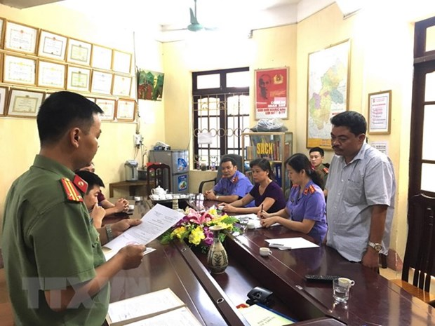 Ha Giang: One more arrested for involvement in exam cheating hinh anh 1