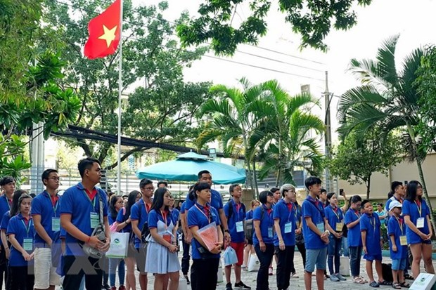 HCM City: youth camp promotes pride in national seas, islands hinh anh 1