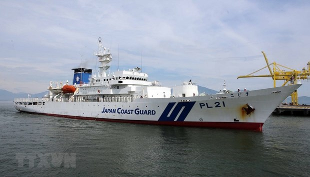 Japan Coast Guard ship starts Vietnam visit hinh anh 1