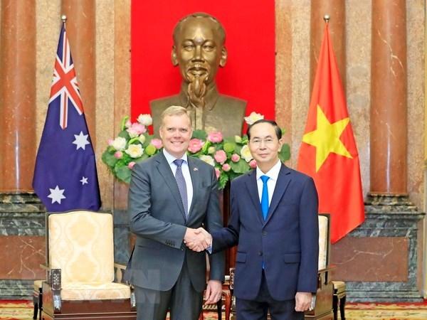 Vietnam, Australia bolster ties in key areas: President hinh anh 1