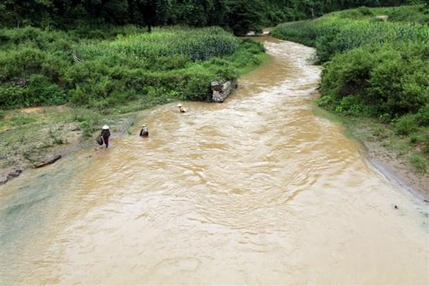 Hundreds of households face high risks of landslide in Dien Bien hinh anh 1