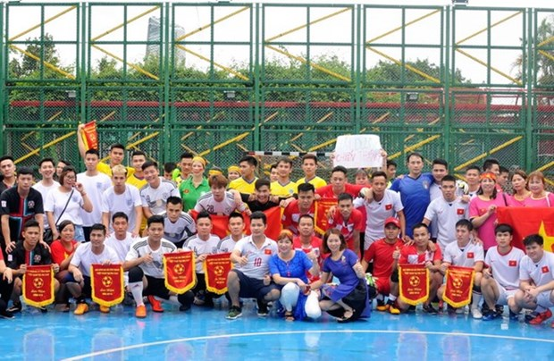 Overseas Vietnamese in Macau commemorate day of martyrs, invalids hinh anh 1