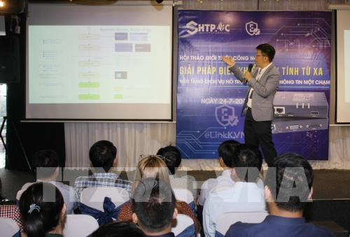 Vietnamese firm unveils patented IT product hinh anh 1