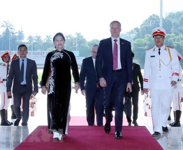 Australian House of Representatives Speaker concludes Vietnam visit hinh anh 1
