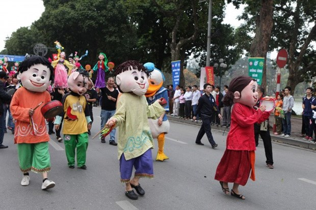 Huge street festival to take place in Hanoi this weekend hinh anh 1