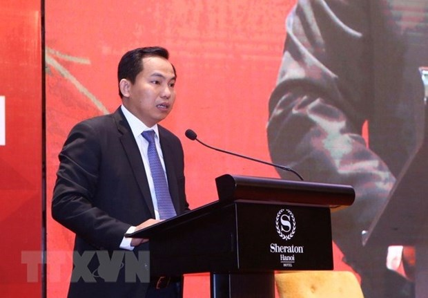 Vietnam CEO Summit 2018 discusses artificial intelligence promotion hinh anh 1