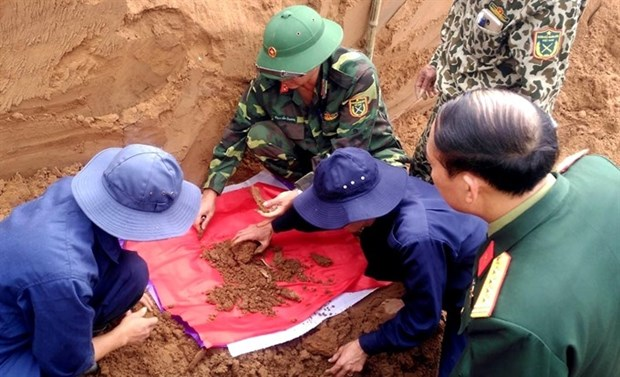 DNA tests offer hope for war martyrs' families hinh anh 1