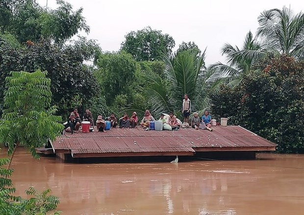 No Vietnamese citizens harmed in dam incident in Laos hinh anh 1