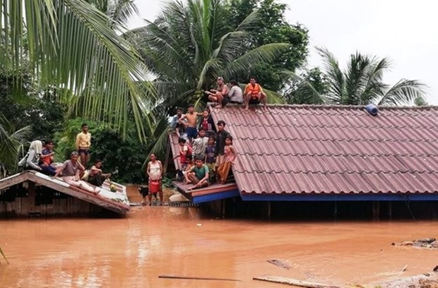 131 missing after dam collapse: Lao Prime Minister hinh anh 2
